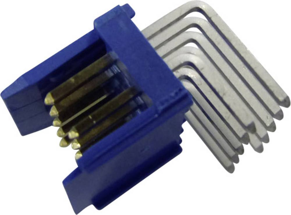 Stiftliste (standard) DUBOX Samlet antal poler 14 FCI 76383-307LF Rastermål: 2.54 mm 1 stk