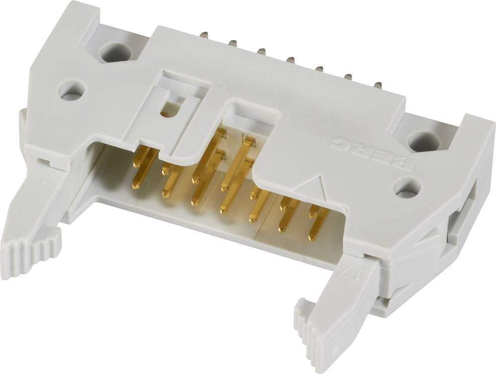 Pole-stikforbindelse med langt udløsergreb, inkl. Aflastsningsklemme Rastermål: 2.54 mm Samlet antal poler: 50 FCI 1 stk