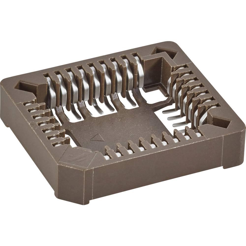 SMD PLCC podnožje 1.27 mm št. polov: 32 FCI 69802-132LF 1 kos