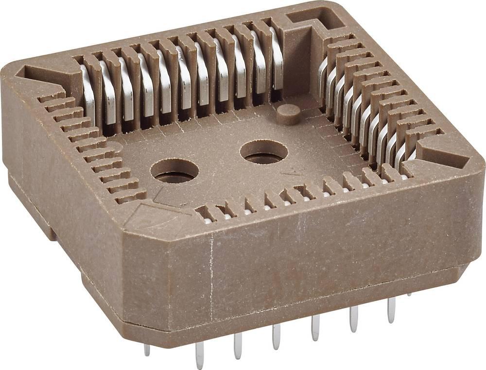 SMD PLCC podnožje 1.27 mm št. polov: 44 FCI 54020-44030LF 1 kos