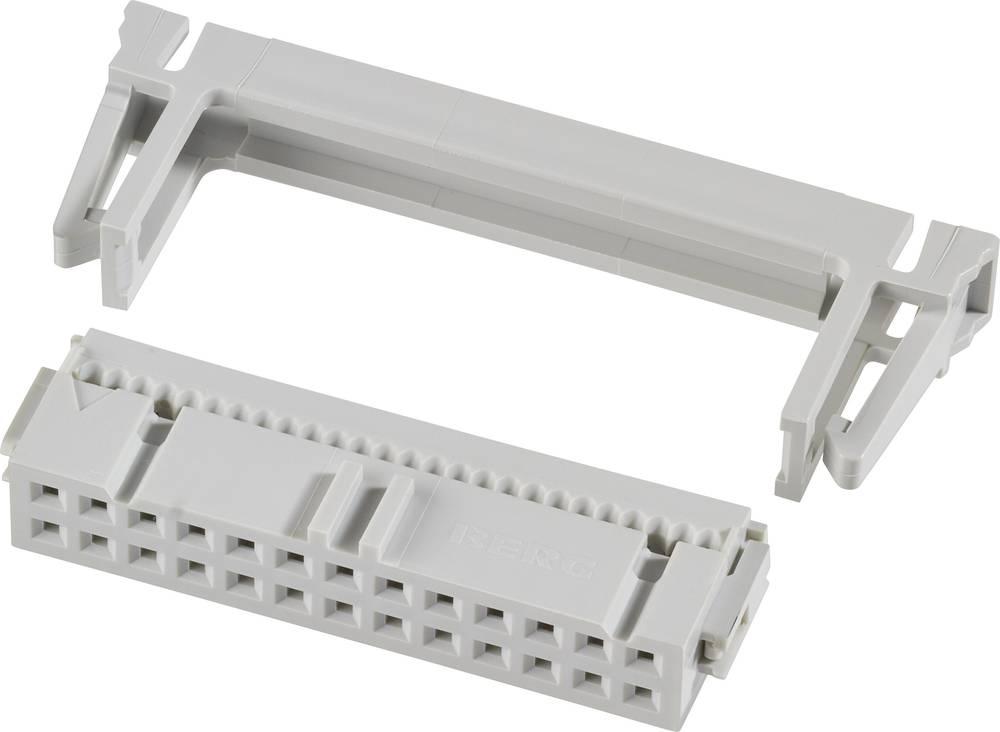 Pole-stikforbindelse med trækaflastning Rastermål: 2.54 mm Samlet antal poler: 26 FCI 1 stk