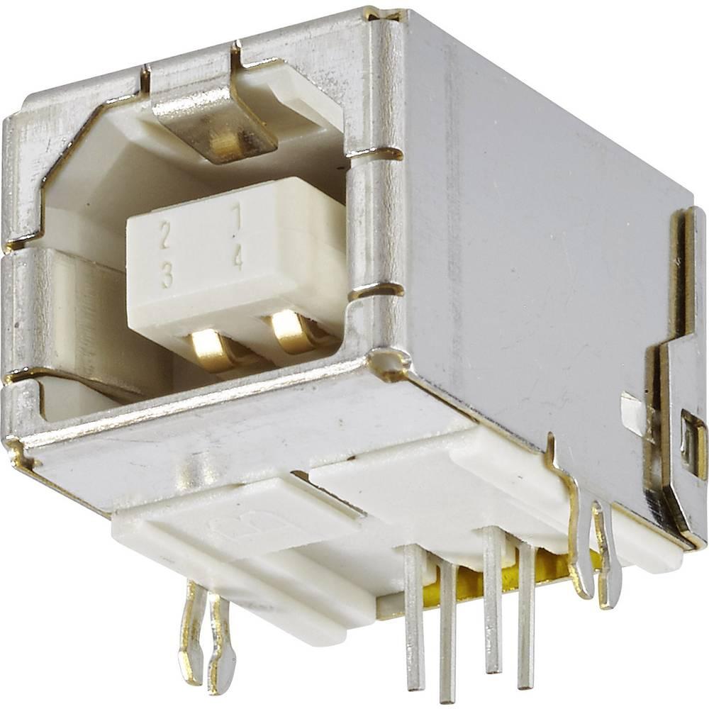 Vgradna vtičnica USB tip B 2.0 vtičnica, vodoravna namestitev, USB 1 vhod FCI vsebina: 1 kos