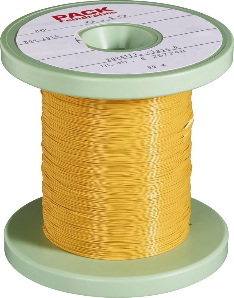 Lakirana bakrena žica zunanji premer (vklj. izolacijski lak)=1 mm zunanji premer (brez izolacijskega laka)=0.80 mm 40 m Pack Lit
