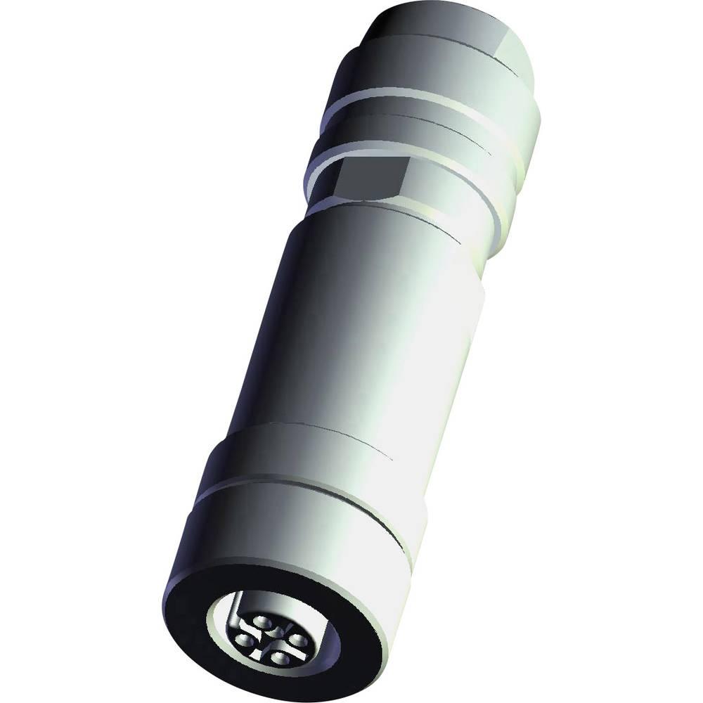 Aktuatorsko-senzorski vtični priključek M12, ravna vtičnica 3-2271119-2 TE Connectivity vsebina: 1 kos