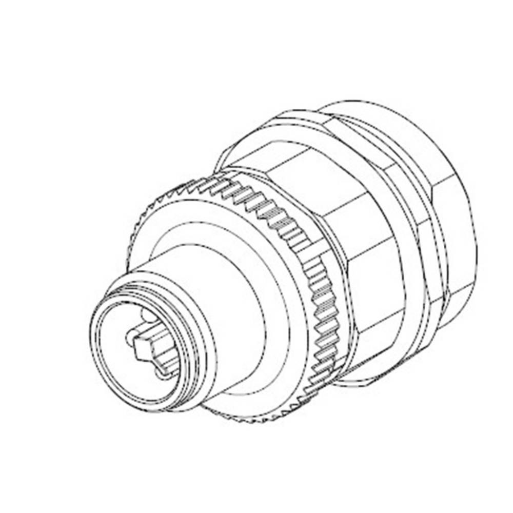 Aktuatorsko-senzorski vtični priključek M8, vgradni vtič 2120947-1 TE Connectivity vsebina: 1 kos
