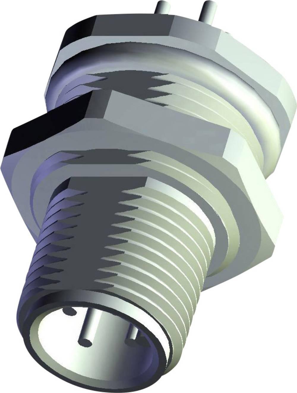 Aktuatorsko-senzorski vtični priključek M12, vgradni vtič 6-2271140-2 TE Connectivity vsebina: 1 kos