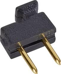 Kratkostični mostiček, razporeditev kontaktov: 2.54 mm št. polov:2 W & P Products 166-10-10-1 vsebina: 1 kos