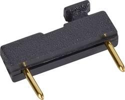 Kratkostični mostiček, razporeditev kontaktov: 7.62 mm št. polov:2 W & P Products 166-30-10-1 vsebina: 1 kos