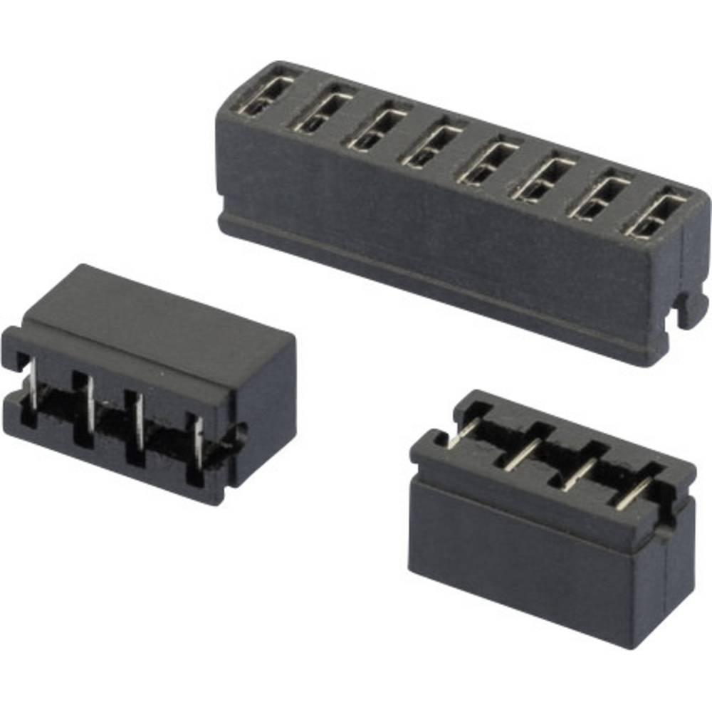 Kratkostični mostiček, razporeditev kontaktov: 2.54 mm št. polov:2 W & P Products 365-02-10-00 vsebina: 1 kos
