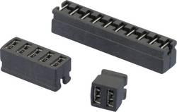 Kratkostični mostiček, razporeditev kontaktov: 2 mm št. polov:2 W & P Products 361-02-10-00 vsebina: 1 kos