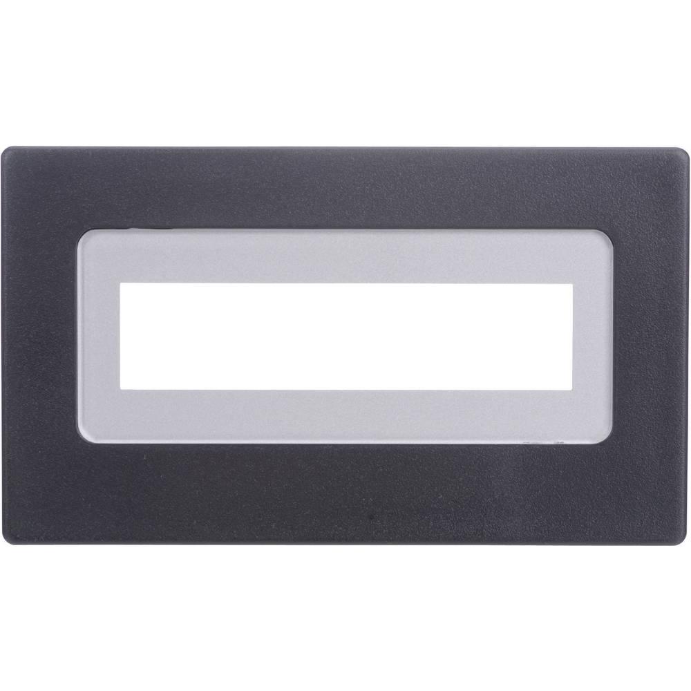 Sprednji okvir, črni, primeren za: LCD zaslon, 16 x 2 (Š x V x G) 91 x 53 x 20 mm umetna masa H-Tronic FR 216