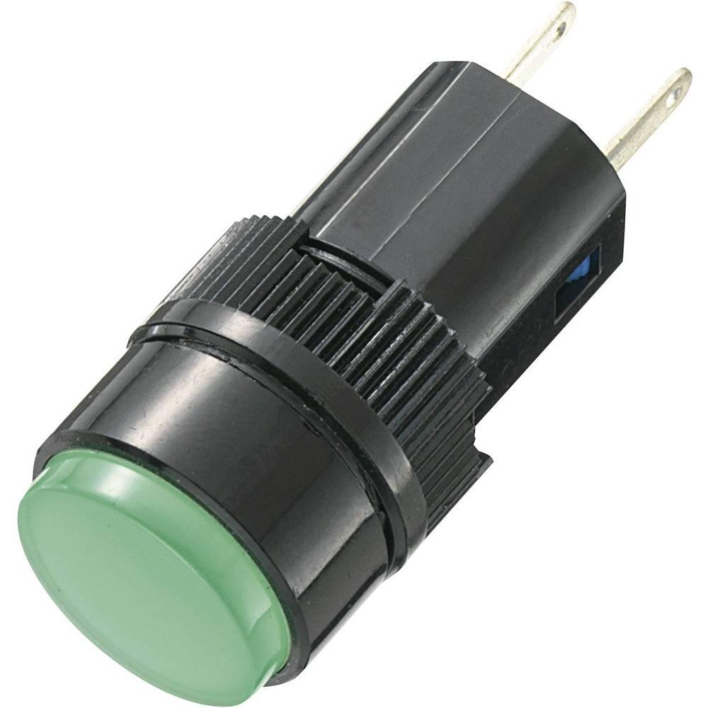 LED-signallampe TRU COMPONENTS 140377 12 V/DC, 12 V/AC 20 mA Rød