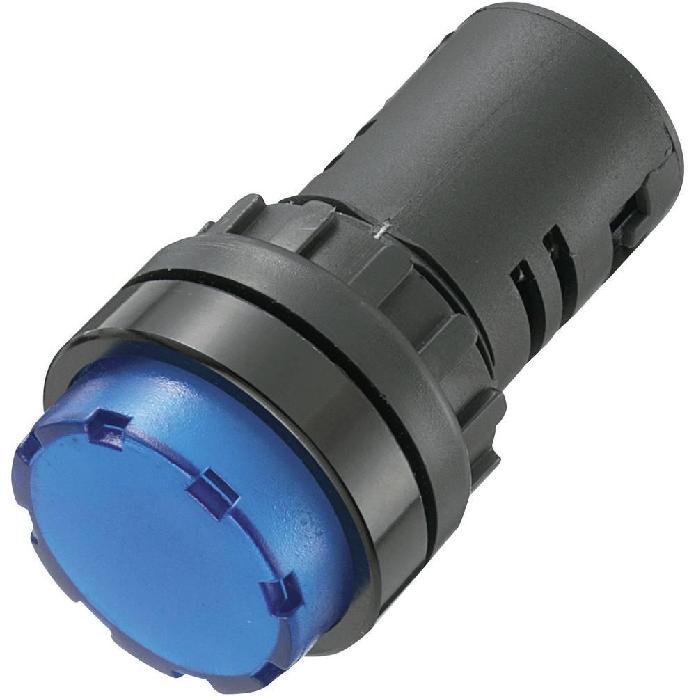 LED-signallampe TRU COMPONENTS 140409 24 V/DC, 24 V/AC 20 mA Blå