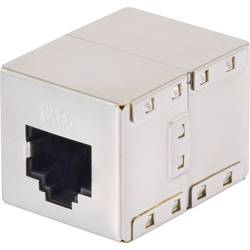 RJ45 Netværk Adapter Renkforce CAT 6 [1x RJ45-tilslutning - 1x RJ45-tilslutning] 0 m Metal