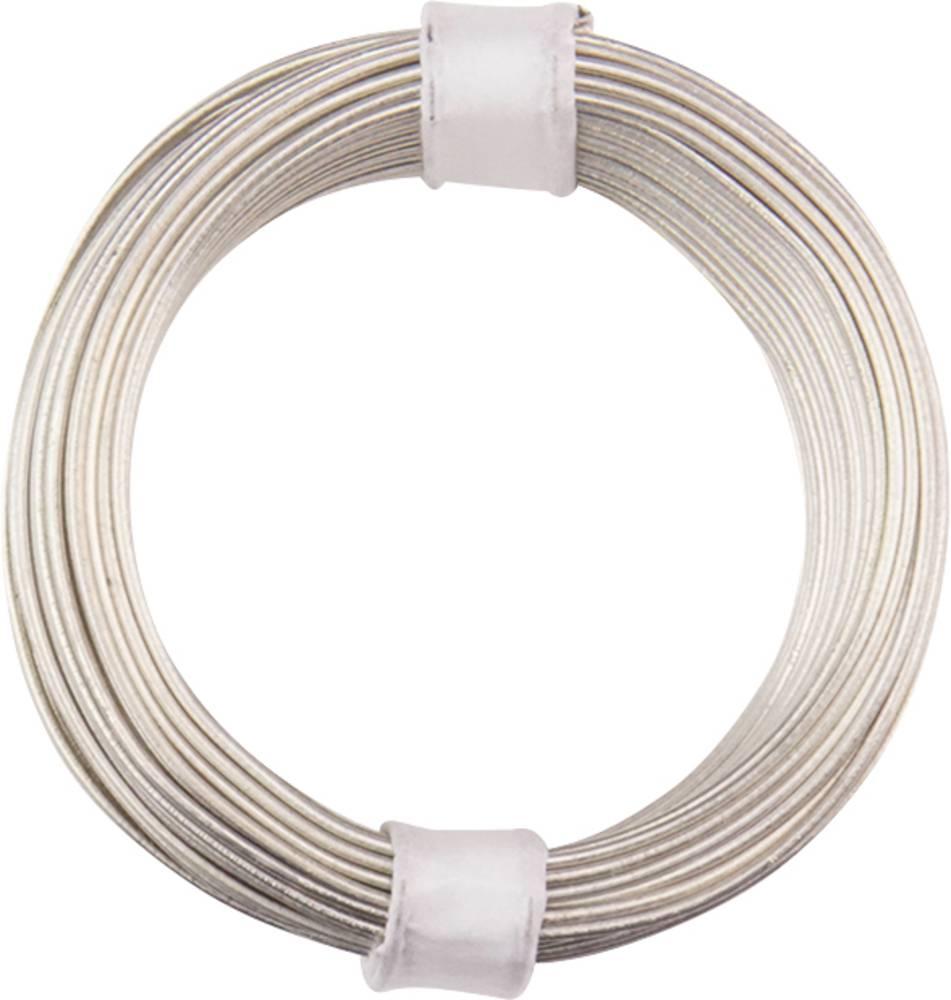Bakrena žica zunanji premer (brez izolacijskega laka)=0.80 mm 10 m BELI-BECO