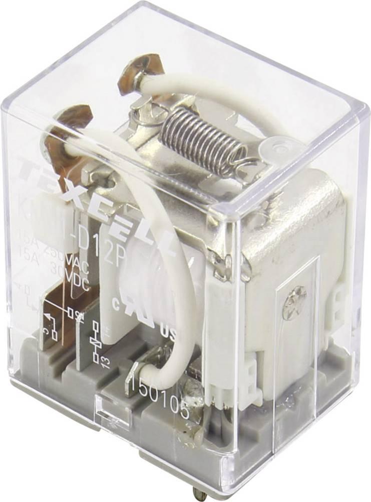 Rele za tiskana vezja 12 V/DC 15 A 1 preklopni Texcell KML1-D12P 1 kos