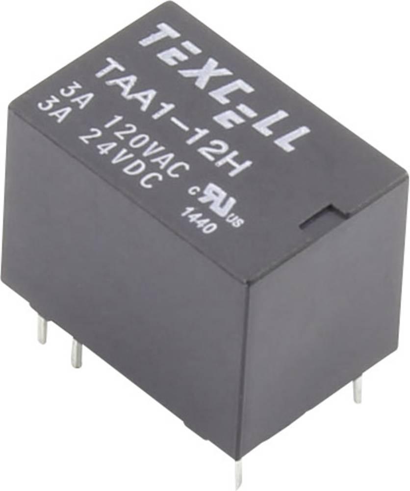 Rele za tiskana vezja 12 V/DC 5 A 1 preklopni Texcell TAA1-12H 1 kos