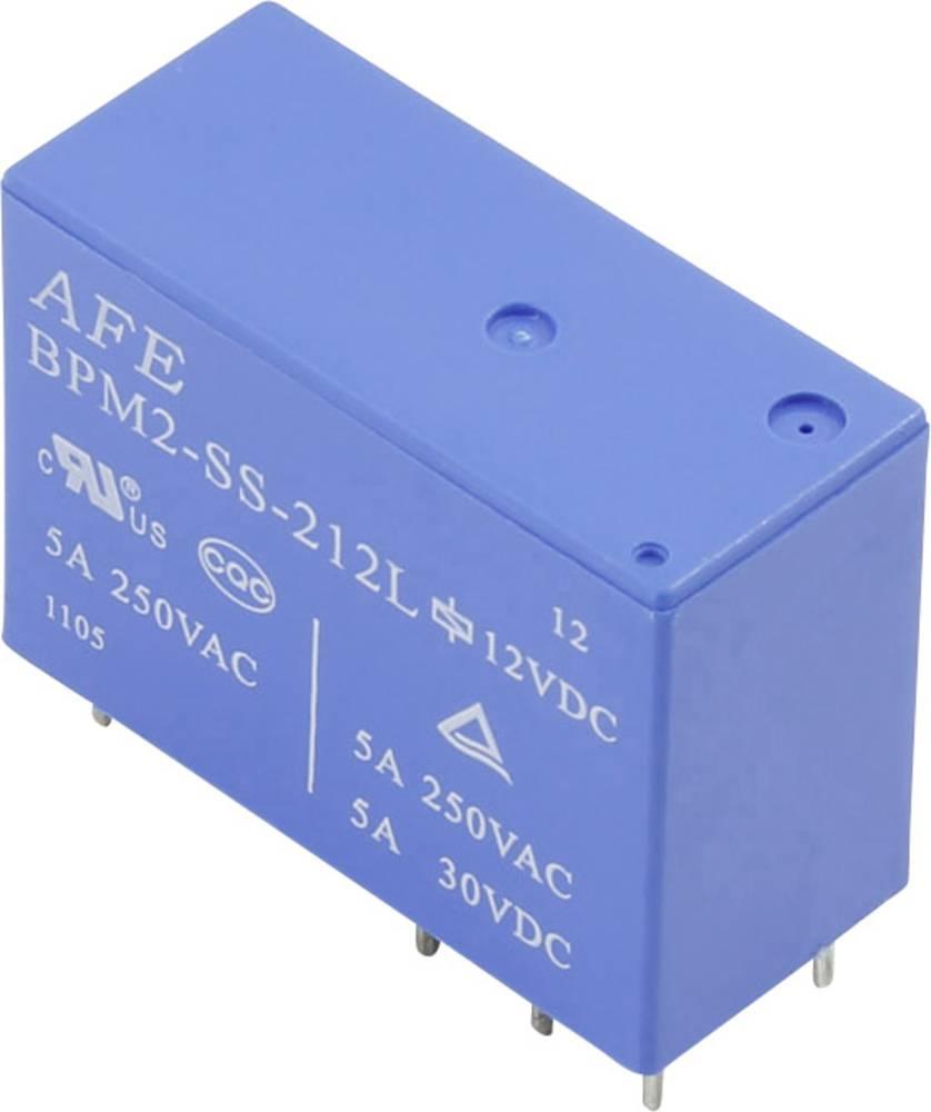 Printrelæ 24 V/DC 5 A 2 x omskifter AFE BPM2 SS 224L 1 stk