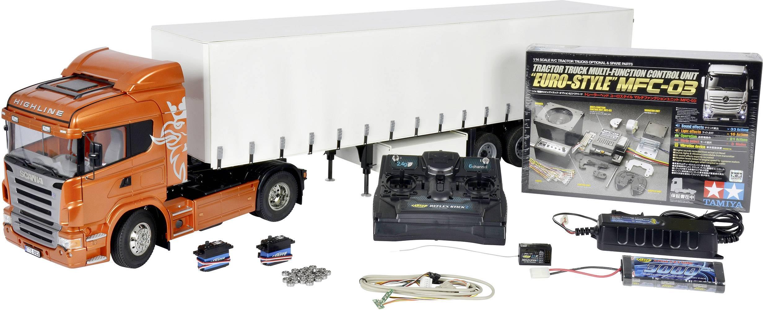 459a3efb8f Tamiya Scania R470 4x2 1:14 Elect | Conrad.com
