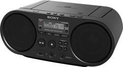 DAB+ CD-radio Sony ZS-PS55B AUX, CD, USB črne barve