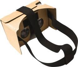 Basetech Headmount Google 3D VR Brun VR-glasögon