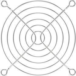 Ventilatorgitter PROFAN Technology (B x H) 90 mm x 90 mm Metal 1 stk