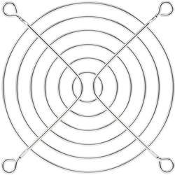 Zaščitna mrežica za ventilator 1 kos PROFAN Technology (Š x V) 90 mm x 90 mm kromirana kovina