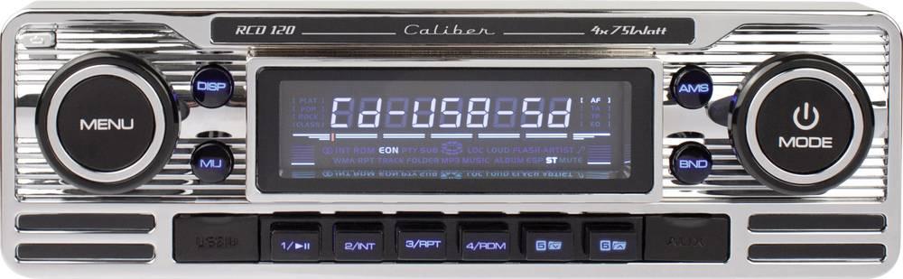 Bilradio Caliber Audio Technology RCD-120 Retro design