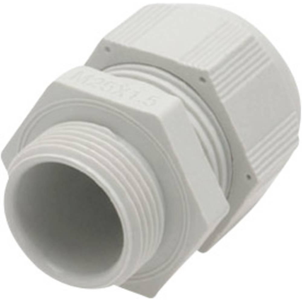 Kabelforskruning Helukabel HT-R 903533 M16 Polyamid Lysegrå (RAL 7035) 1 stk