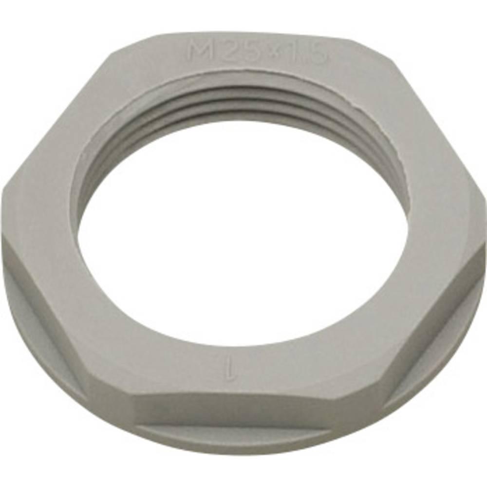 Varovalna matica z obročem PG13.5, poliamid srebrno-sive barve (RAL 7001) Helukabel KMK-PA 94253 1 kos
