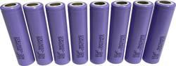 Special-batteri 18650 Flat-Top Litium Samsung ICR18650-30A 3.7 V 2850 mAh 8 stk