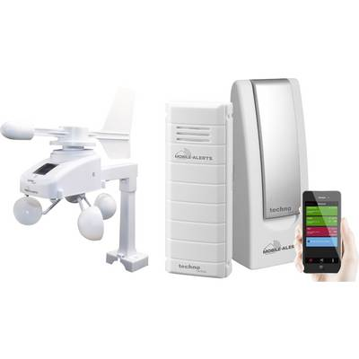 Techno Line MA 10045 Mobile Alerts MA 10045 Wireless digital weather station Forecasts for 12 to 24 hours