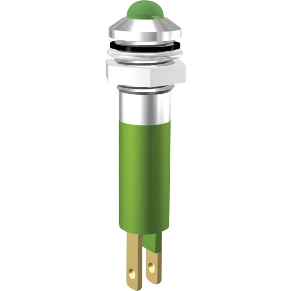LED signalno svjetlo, bijelo 24 V/DC Signal Construct SWQU08624