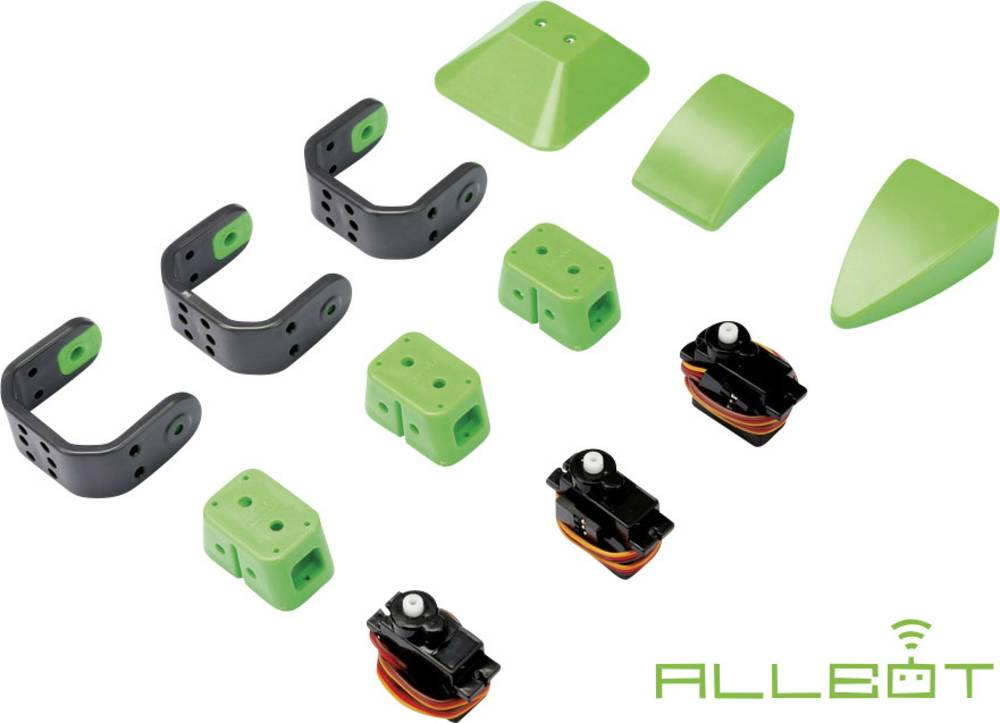 Velleman Komplet za sestavljanje robotske noge ALLBOT®-opcij, noga s 3 Servo motorji VR013
