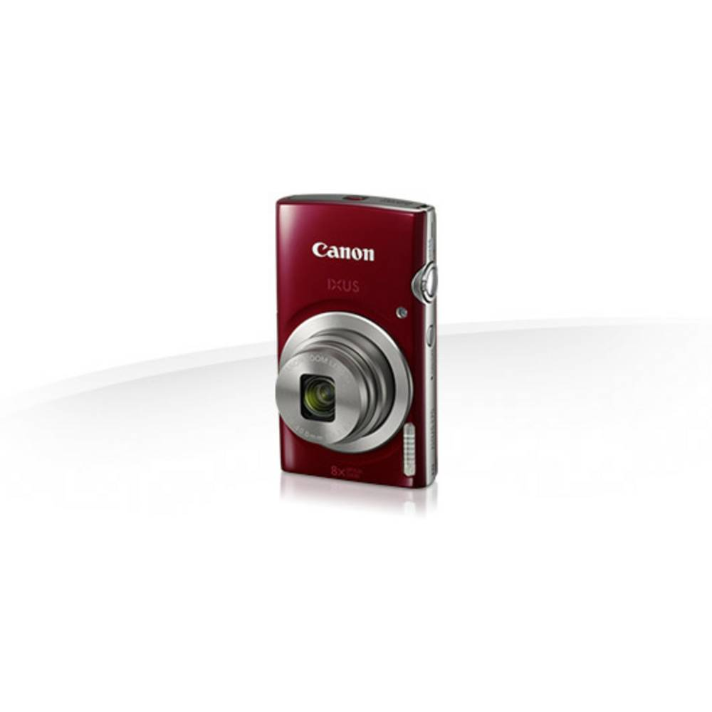 Digital Camera Canon Ixus 175 20 Mpix Optical Zoom 8 X Red From Silver