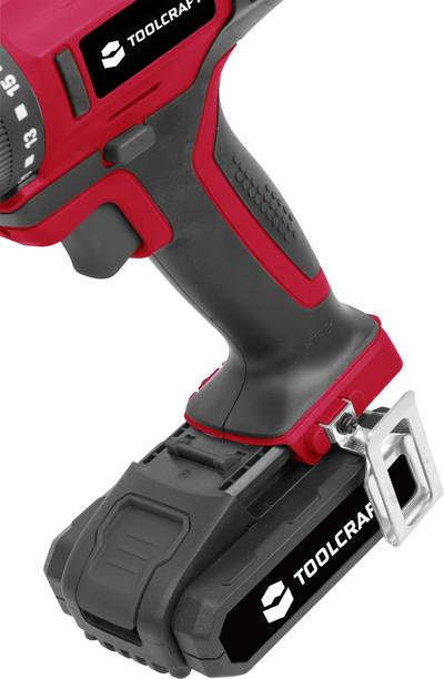 TOOLCRAFT DD 14.4 Cordless drill 14.4 V 1.5 Ah Li-ion incl. rechargeables, incl. case