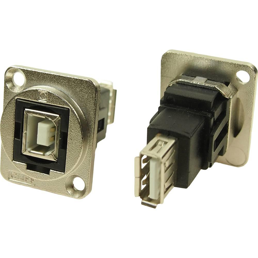 Cliff CP30207NM USB 2.0 Nikkel 1 stk