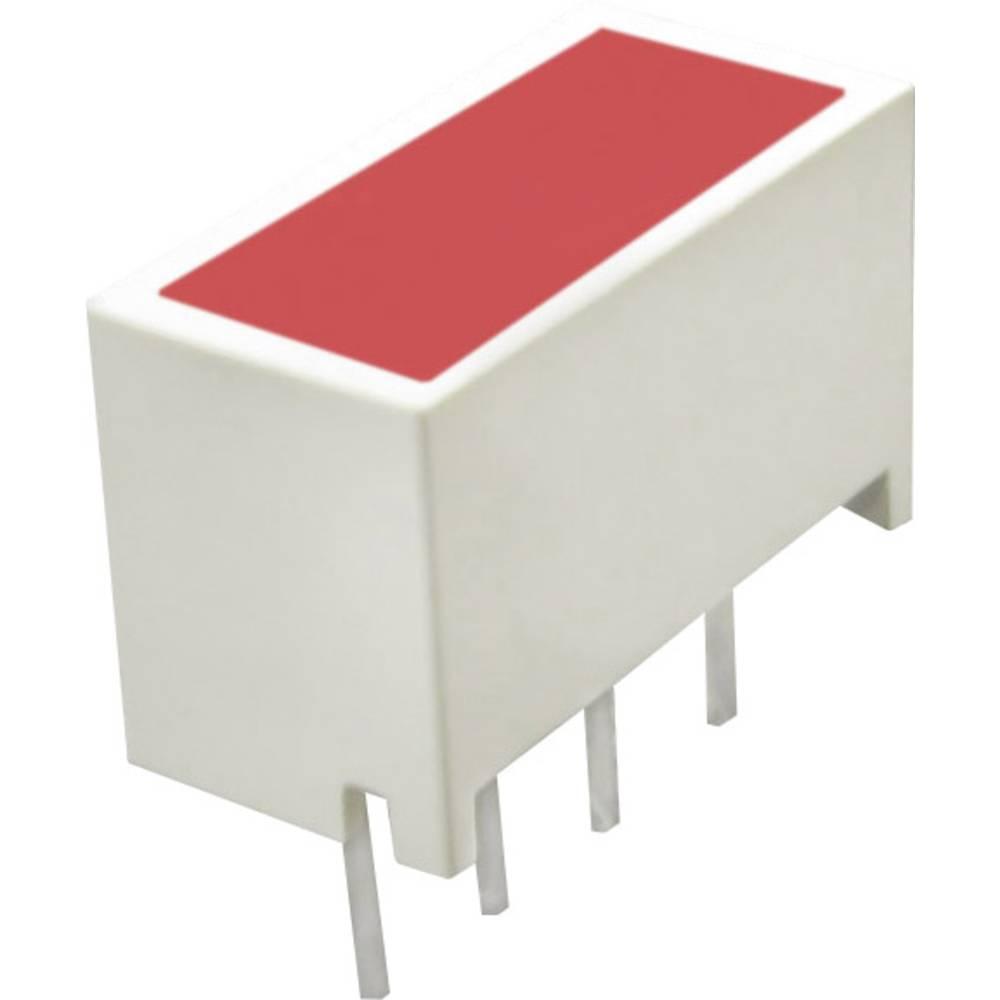 Plosnata LED dioda, 4-dijelna, zelena (D x Š) 10 mm x 10 mm Kingbright KB2855SGD