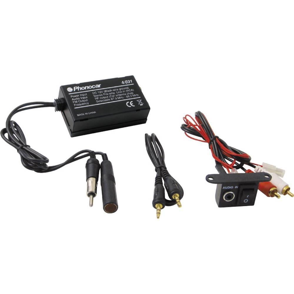 FM-modulator Phonocar Audio-interface mit Frequenz-modulator