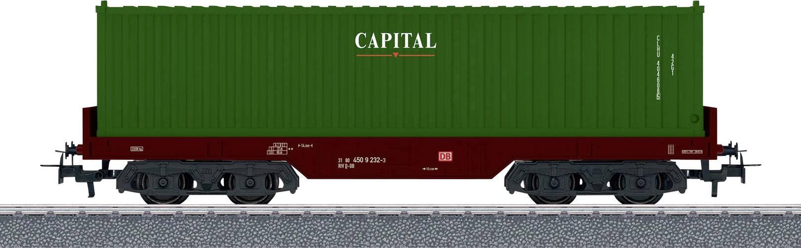 lighting installation Märklin//Trix Grinder Set H0 for 2 Axle Pers freight wagons