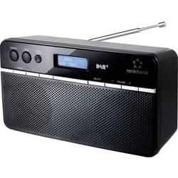 DAB+ Bordradio Renkforce NE-6210 Sort