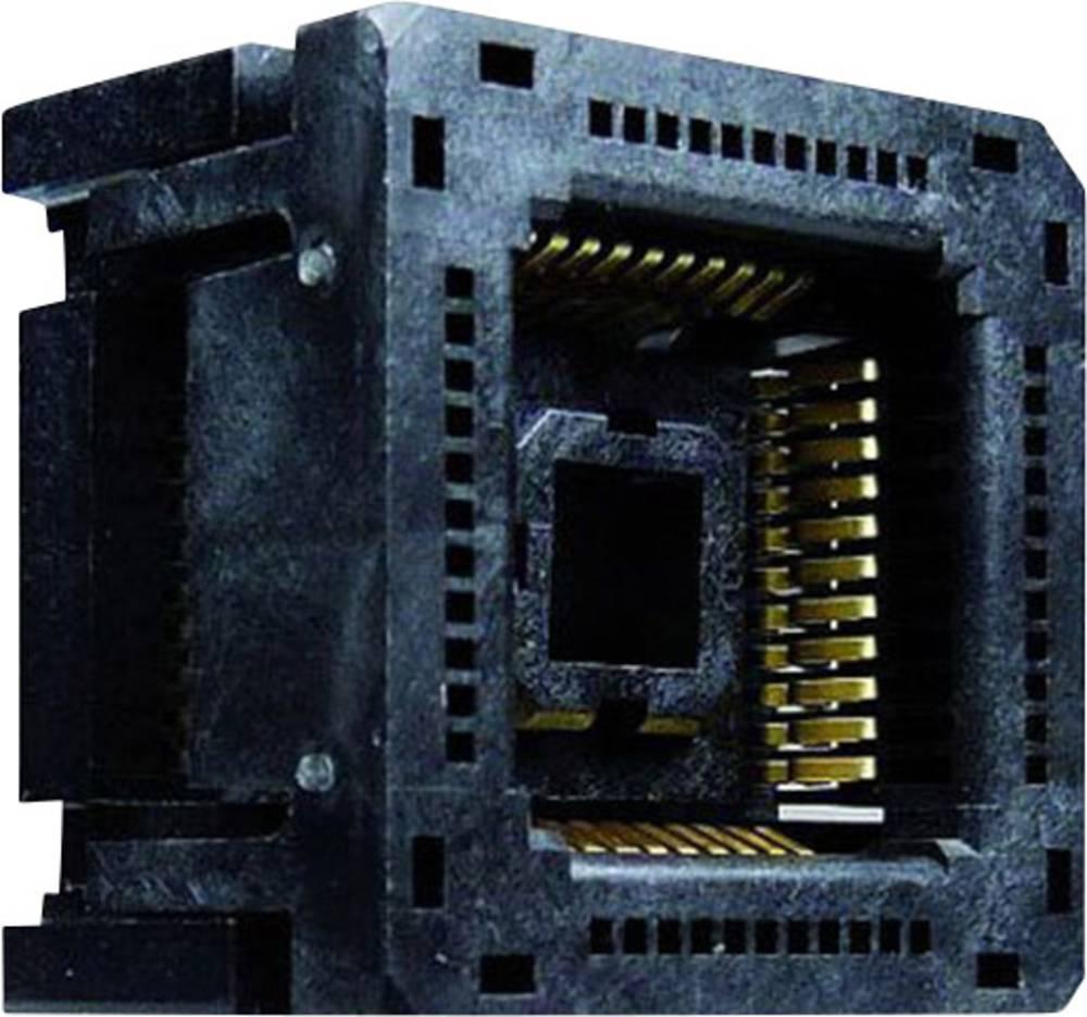 PLCC-fatning Rastermål: 1.27 mm Poltal: 44 Yamaichi 1 stk