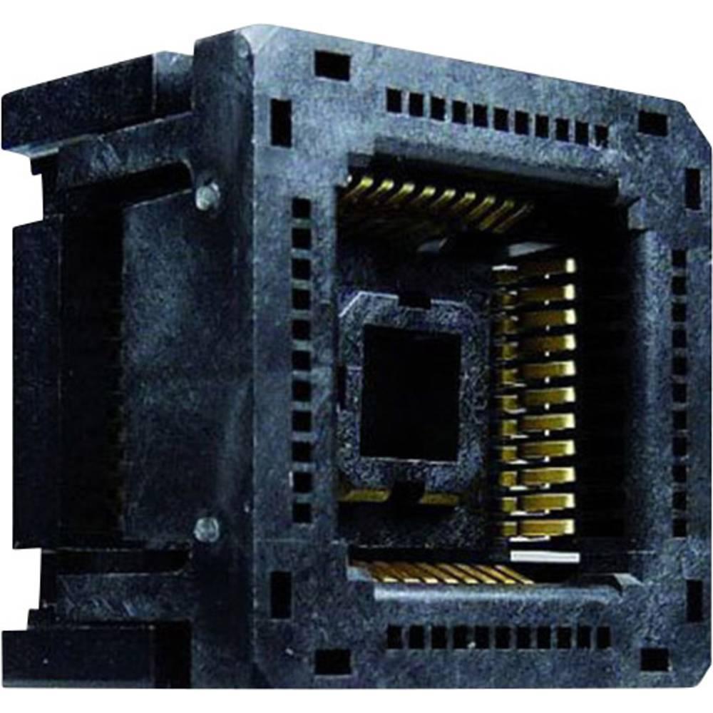 PLCC podnožje 1.27 mm št. polov: 84 Yamaichi IC120-0844-303 1 kos