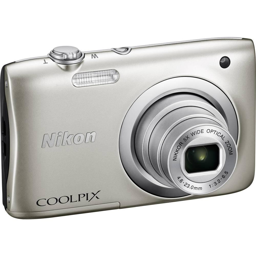 Nikon Coolpix A100 Digital Camera 201 Mpix Optical Zoom 5 X Silver S3600 201mp Ebay Full