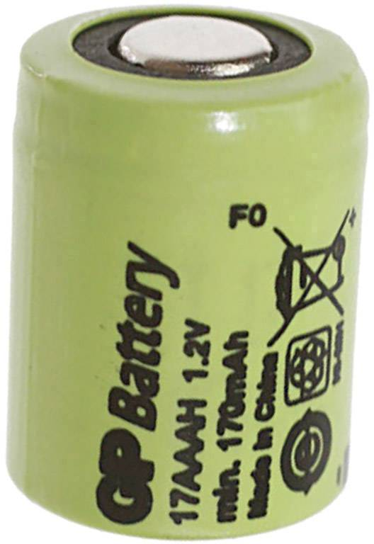 86499a781eee8 GP Batteries GP17AAAH Non-standard battery (rechargeable) 1/3 AAA Flat top  NiMH 1.2 V 170 mAh | Conrad.com