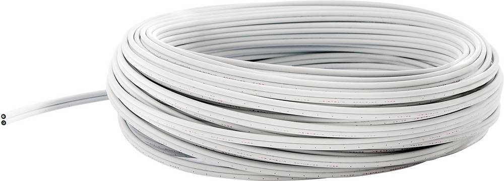 POF-kabel 980/1000µ Simplex bele barve fuba WebFiber WFL 500 50 m