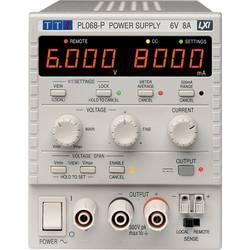 Laboratoriestrømforsyning, indstillelig Aim TTi PL068 0 - 6 V 0 - 8 A 48 W Antal udgange 1 x