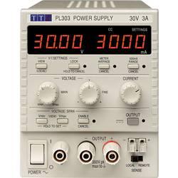 Laboratoriestrømforsyning, indstillelig Aim TTi PL303-P 0 - 30 V/DC 0 - 3 A 90 W Antal udgange 1 x