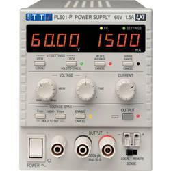 Laboratoriestrømforsyning, indstillelig Aim TTi PL601-P 0 - 60 V/DC 0 - 1.5 A 90 W Antal udgange 1 x