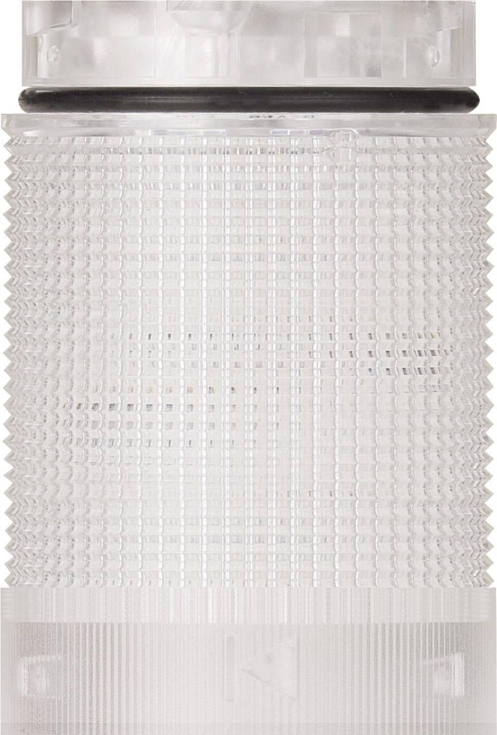 Signalni stolp LED Werma Signaltechnik KomdoIGN 40 TwinFLASH cl bele barve bliskavica 24 V/DC